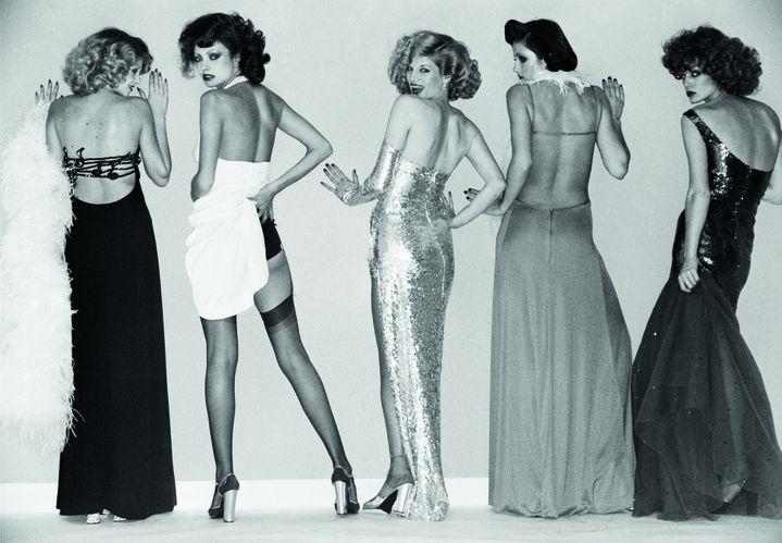 "Expo ""Azzaro, 50 ans d'éclats"" : modèle Jessica Jones  (Werner Bokelberg)"