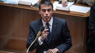 Manuel Valls à l'Assemblée nationale le 16 juin 2015. (CHRISTOPHE PETIT TESSON / MAXPPP)