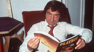 "Pierre Desproges en 1983 dans ""La minute nécessaire de M. Cyclopède""  (BENAROCH/SIPA)"