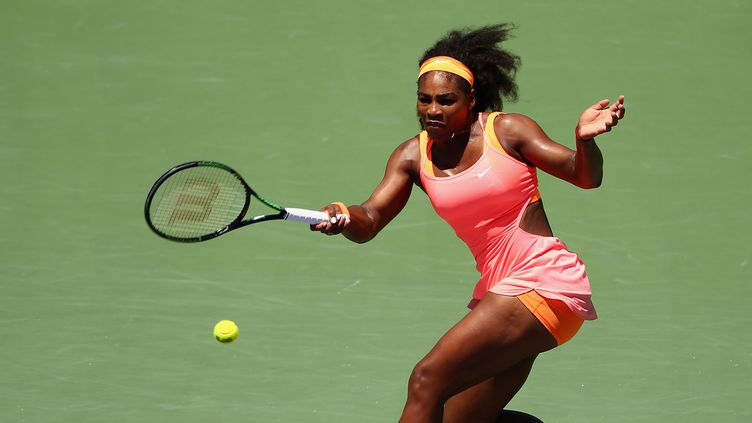 Serena Williams continue l'aventure à Torontio  (CLIVE BRUNSKILL / GETTY IMAGES NORTH AMERICA)