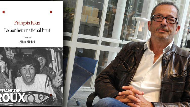 """François Roux et son roman """"Le bonheur national brut"""" (Albin Michel)  (Laurence Houot / Culturebox)"""