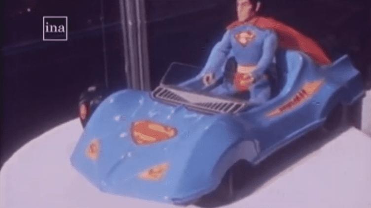 Un jouet Superman datant de 1979. (INA)