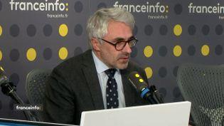 Pascal Saint-Amansinvité de franceinfole lundi 20 janvier 2020 (capture écran). (FRANCEINFO / RADIOFRANCE)