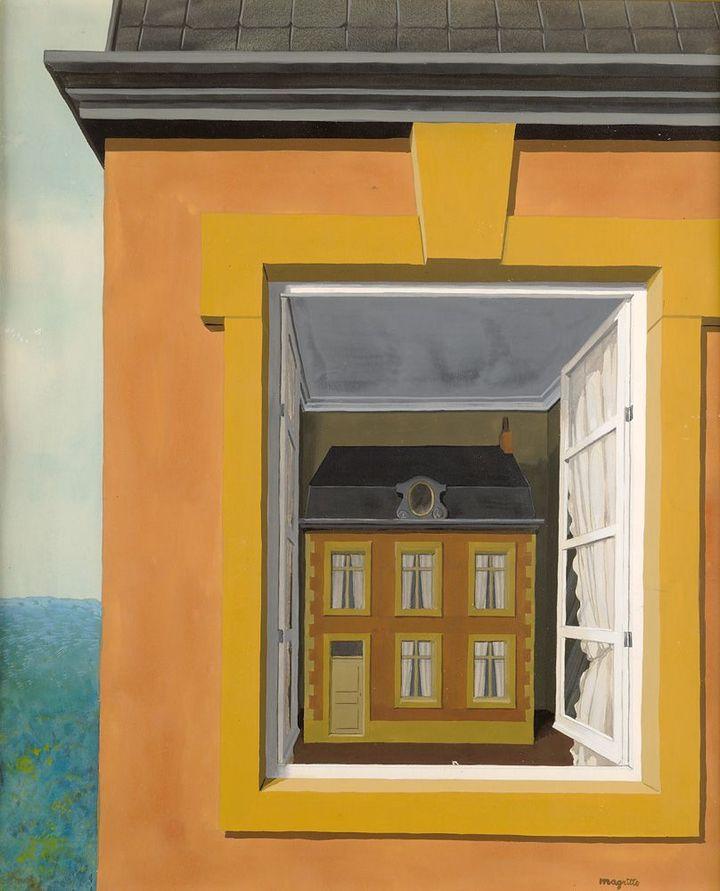 René Magritte, Eloge de la dialectique, 1936, Musée d'Ixelles, Bruxelles, photo Mixed Media  (2013, ProLitteris Zurich )