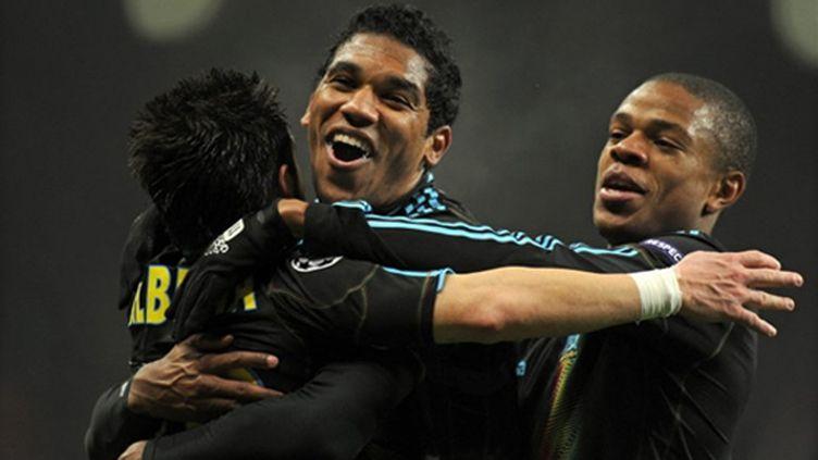 Remy, Ayew et Lucho (Marseille)