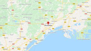 Montpellier, dans l'Hérault. (GOOGLE MAPS)