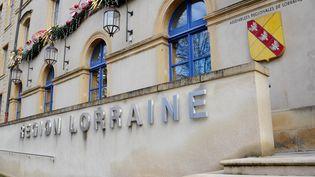 Le batiment du Conseil régional de Lorraine à Metz (Moselle). Photo d'illustration. (JEAN-CHRISTOPHE VERHAEGEN / AFP)