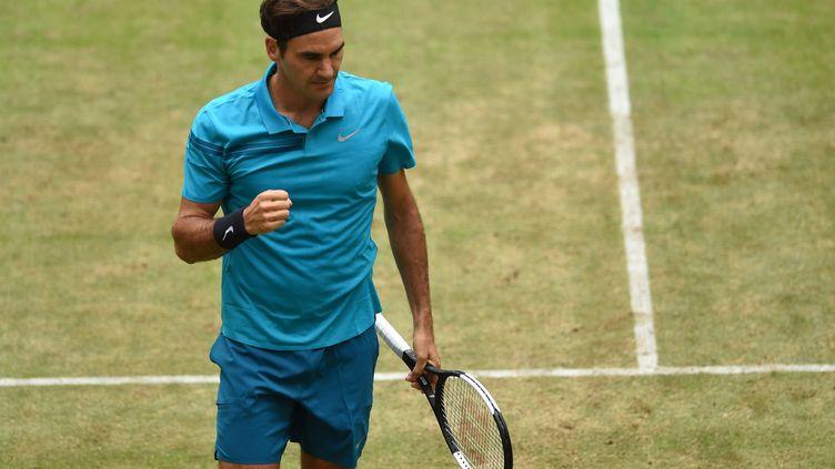 Roger Federer (CARMEN JASPERSEN / AFP)