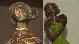 Oeuvres de la céramiste Catherine Chabert (France 3 Nouvelle Aquitaine)