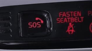 A partir du 2 avril, les voitures neuves seront équipée d'un bouton d'alerte. (France 3)