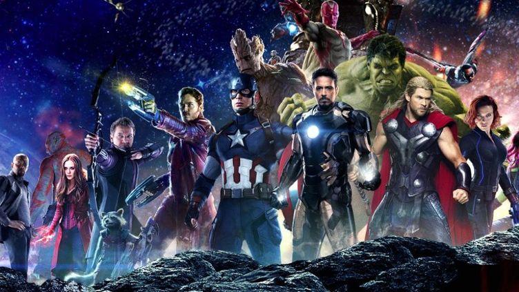 """Avengers : Infinity War"" de Joe Russo et Anthony Russo  (Marvel Studios)"