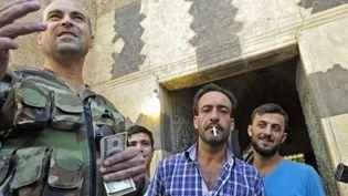Les combattants d'Alep perçoivent un premier salaire. (AFP)