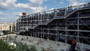Le centre Pompidou en mars 2021. (ROSINE MAZIN / MAZIN ROSINE)