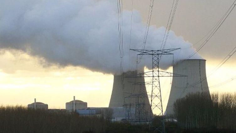 La centrale nucléaire de Nogent-sur-Seine (Aube) lundi 5 décembre (FRANCOIS NASCIMBENI / AFP)