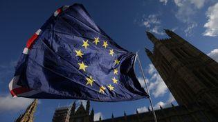 L'Union européenne et le Royaume-Uni se sont mis d'accord, vendredi 8 décembre 2017, sur la première phase des négociations du Brexit. (DANIEL LEAL-OLIVAS / AFP)