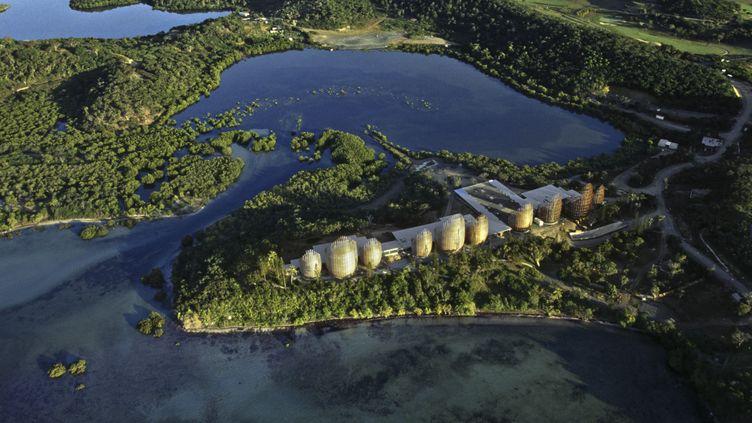 Le centre culturel Tjibaou, à Nouméa en Nouvelle-Calédonie. (GETTY IMAGES)