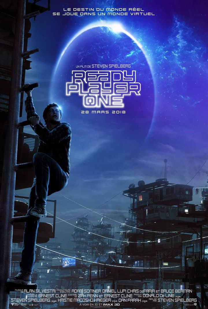 """""""Ready Player One"""" : affiche  (2017 WARNER BROS. ENTERTAINMENT INC. )"""