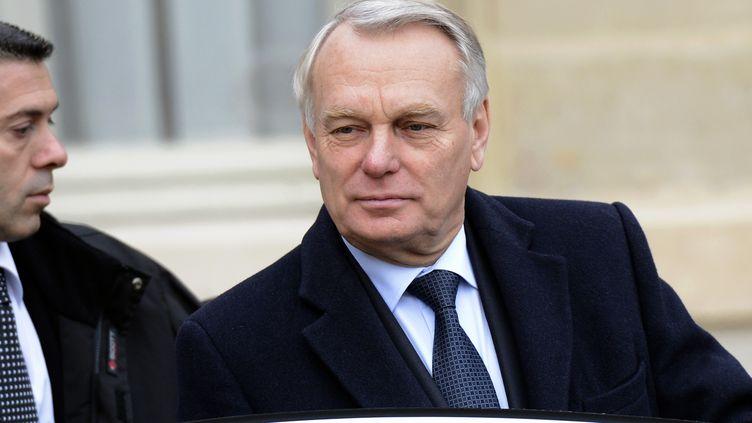 Le Premier ministre Jean-Marc Ayrault, le 19 décembre 2012 à Paris. (BERTRAND GUAY / AFP)