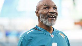 Mike Tyson le 19 septembre 2019 à Jacksonville en Floride. (JAMES GILBERT / GETTY IMAGES NORTH AMERICA)