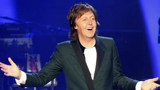 L'ex-Beatles Paul McCartney, ici en avril 2014  (Felipe Trueba/EPA/MAXPPP)