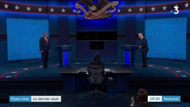 Etats-Unis : dernier débat présidentiel avant les élections