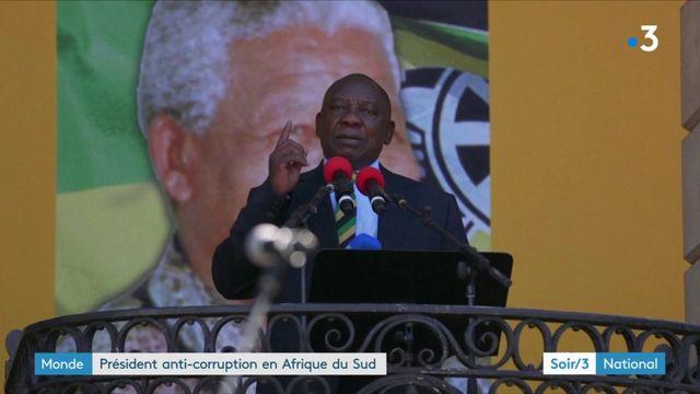 Afrique du Sud : le nouveau président souhaite tourner la page