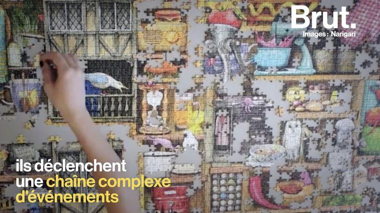 VIDEO. Les puzzles auraient aussi des effets positifs sur notre santé mentale (BRUT)