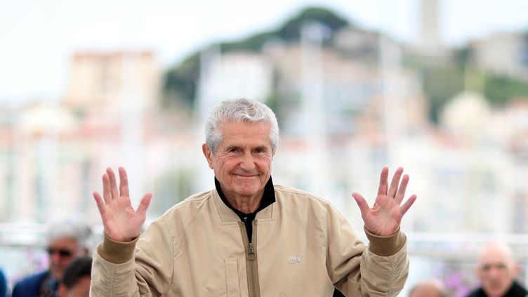 Claude Lelouch au Festival de Cannes 2019. (VALERY HACHE / AFP)