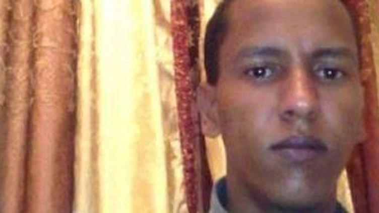Le blogueur mauritanien Mohamed Cheikh Ould Mkheïtir, en détention depuis janvier 2014. (Photo Comité de soutien sur Facebook)