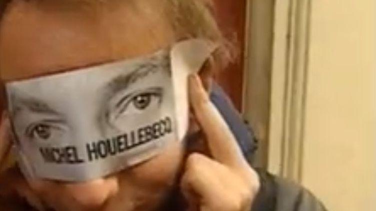Michel Houellebecq est au coeur d'une nouvelle polémique. (CAPTURE D'ECRAN FRANCEINFO)
