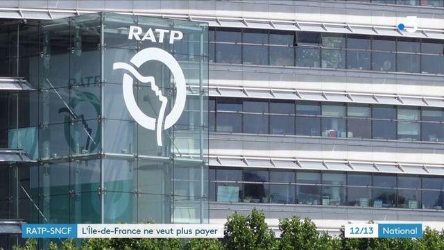 RATP-SNCF : l'Île-de-France ne veut plus payer