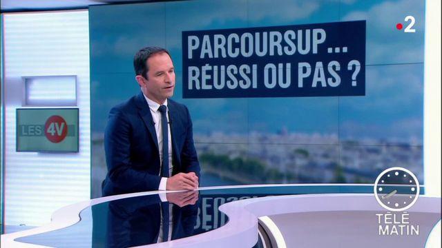 """Parcoursup : Benoît Hamon dénonce la """"violence symbolique"""" de la sélection"""