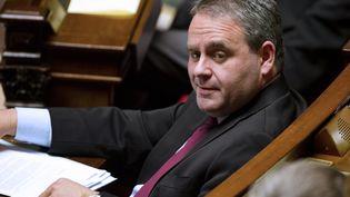 Le ministre de la Santé, Xavier Bertrand, à l'Assemblée nationale, le 15 novembre 2011. (FRED DUFOUR / AFP)