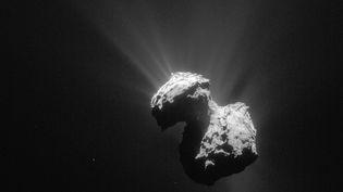Photo de la comète Tchouri prise le 7 juillet 2015. (ESA)