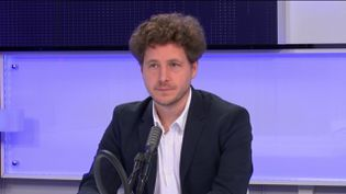 Julien Bayou, secrétaire national EELV, sur franceinfo mercredi 16 septembre. (FRANCEINFO / RADIO FRANCE)