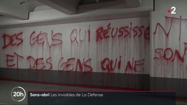 Hauts-de-Seine : la vie souterraine des SDF de La Défense
