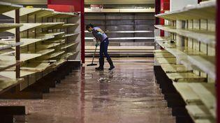 Des pénuries en tout genre frappent le Venezuela. (RONALDO SCHEMIDT / AFP)