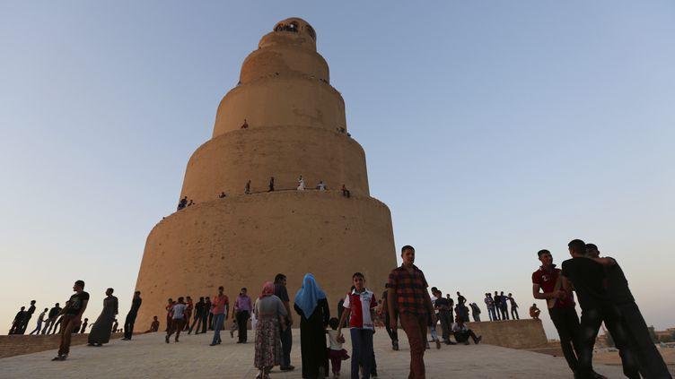 Le minaret de la mosquée de Samarra, en Irak. (  REUTERS)