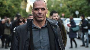 Le nouveau ministre des Finances grec, Yanis Varoufakis, mardi 27 janvier 2015, à Athènes (Grèce). (ARIS MESSINIS / AFP)