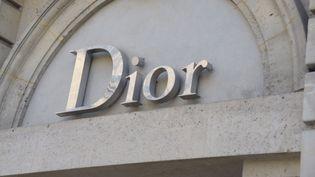 Boutique Dior à Paris en 2018  ( Jacques BENAROCH/SIPA)
