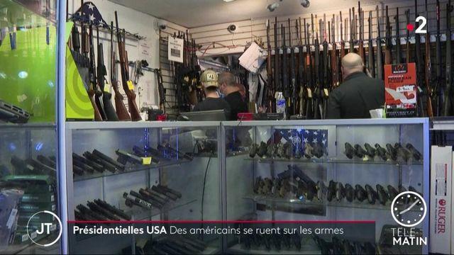 États-Unis: les Américains se ruent sur les armes