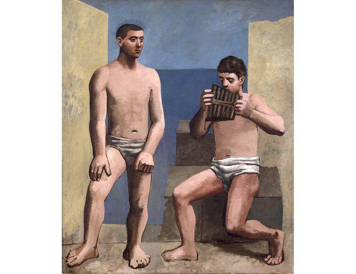 Pablo Picasso, La Flûte de Pan,Antibes, été 1923,Musée national Picasso-Paris, Dation Pablo Picasso, 1979 (© RMN-Grand Palais / Adrien Didierjean © Succession Picasso 2019)