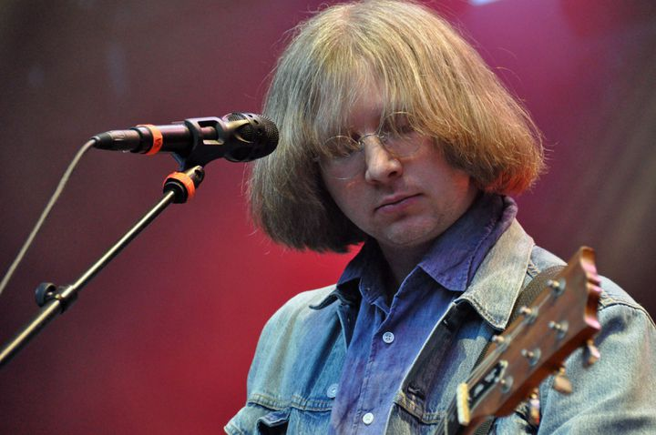 Austin Brown, chanteur et guitariste de Parquet Courts (Olivier Flandin / FTV)