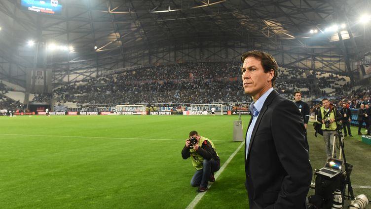 Rudi Garcia est attendu au tournant par le public du Stade Vélodrome. (BORIS HORVAT / AFP)