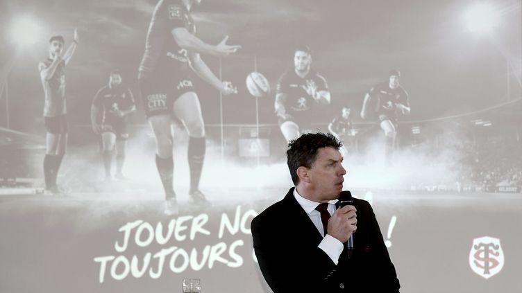 Le président du Stade Toulousain Didier Lacroix. (MICHEL VIALA / MAXPPP)