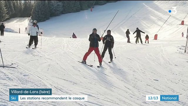 Ski : les stations recommandent le port du casque
