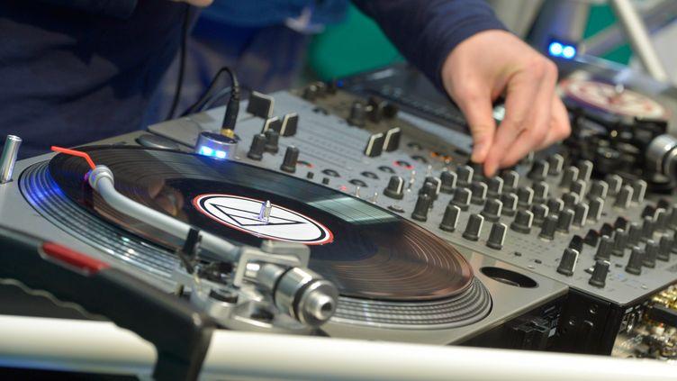 Un DJ en Allemagne. Photo d'illustration. (VOLKMAR HEINZ / ZB)