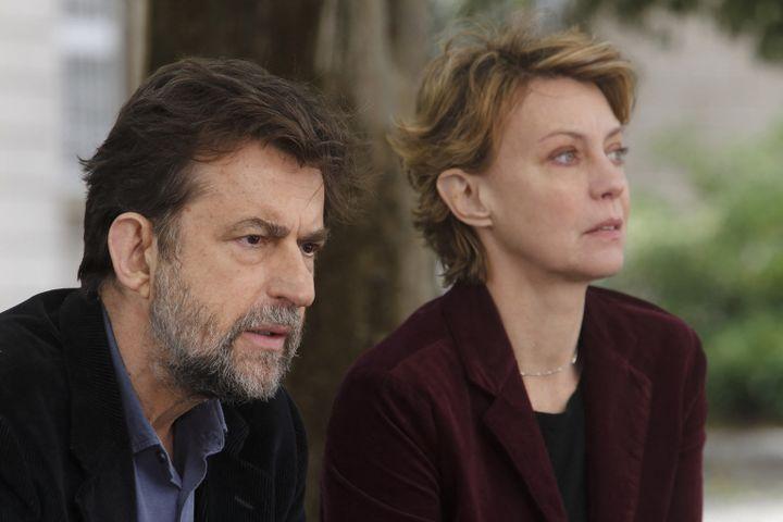 """Nanni Moretti et Margherita Buy dans """"Mia Madre"""" sorti en 2015 (SACHER FILM/FANDANGO/LE PACTE / ARCHIVES DU 7EME ART)"""