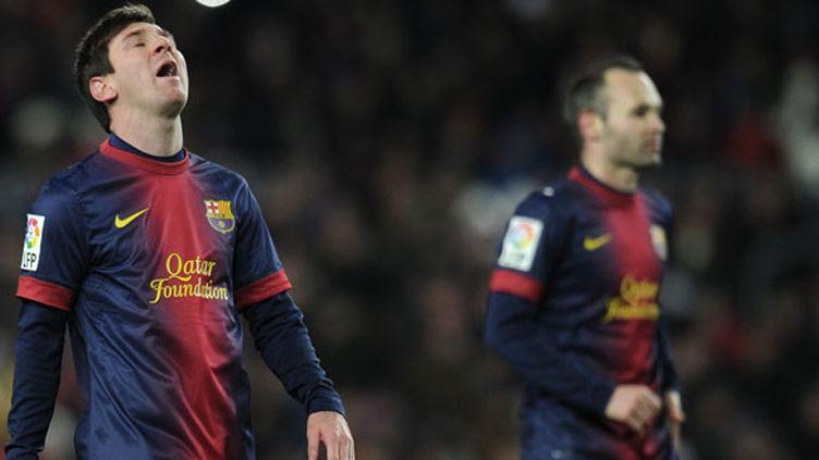 Lionel Messi et Andres Iniesta, les artistes du FC Barcelone