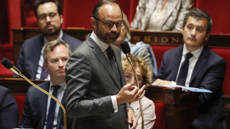 Edouard Philippe à l'Assemblée nationale, le 7 novembre 2017 (FRANCOIS GUILLOT / AFP)